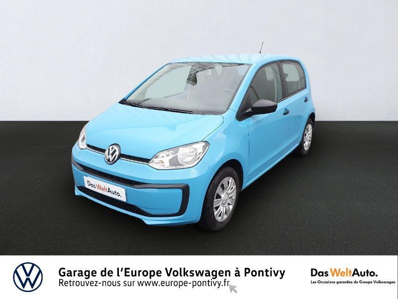 Volkswagen up! 1.0 60ch Take up! 5p Essence BLEU ADRIATIQUE Occasion à vendre