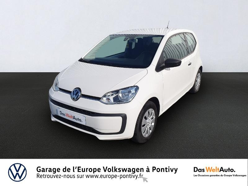 Volkswagen up! 1.0 60ch BlueMotion Technology Take up! 3p Essence BLANC CANDY Occasion à vendre