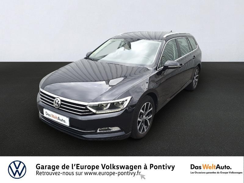 Volkswagen Passat SW 1.6 TDI 120ch BlueMotion Technology Connect DSG7 Diesel NOIR INTENSE NACRE Occasion à vendre