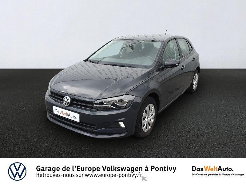 Volkswagen Polo 1.0 65ch Trendline Essence GRIS URANO Occasion à vendre