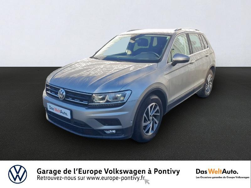 Volkswagen Tiguan 2.0 TDI 150ch Sound Diesel GRIS TUNGSTENE METAL Occasion à vendre