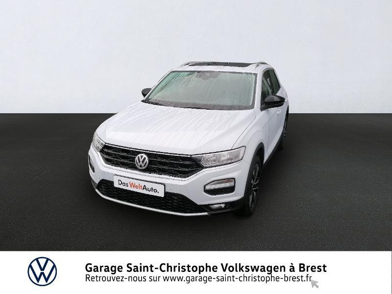 Photo 1 de l'offre de VOLKSWAGEN T-Roc 2.0 TDI 150ch IQ.Drive DSG7 Euro6d-T à 27990€ chez Garage Saint Christophe - Volkswagen Brest