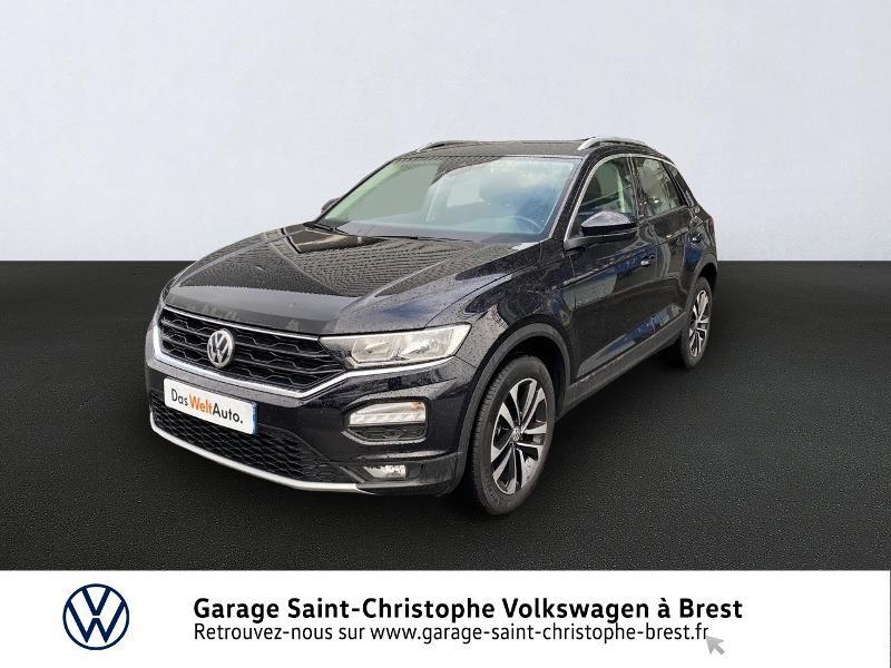 Photo 1 de l'offre de VOLKSWAGEN T-Roc 1.5 TSI EVO 150ch United DSG7 S&S à 26990€ chez Garage Saint Christophe - Volkswagen Brest