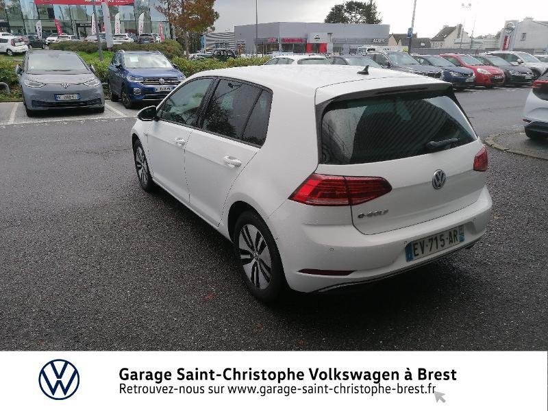 Photo 3 de l'offre de VOLKSWAGEN e-Golf 136ch 4cv à 20990€ chez Garage Saint Christophe - Volkswagen Brest