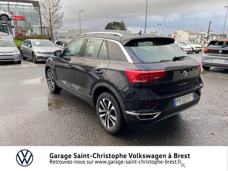 Photo 3 de l'offre de VOLKSWAGEN T-Roc 1.5 TSI EVO 150ch United DSG7 S&S à 26990€ chez Garage Saint Christophe - Volkswagen Brest