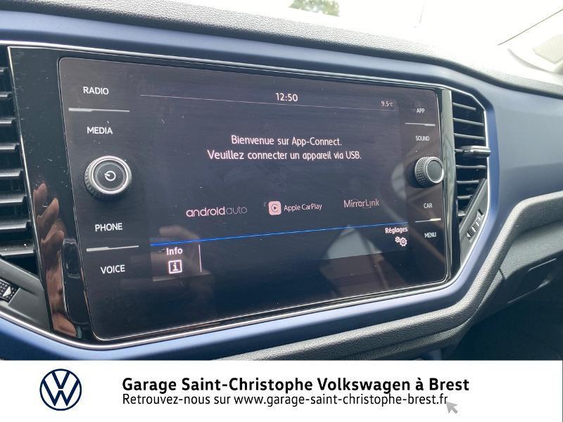 Photo 8 de l'offre de VOLKSWAGEN T-Roc 1.5 TSI EVO 150ch United DSG7 S&S à 26990€ chez Garage Saint Christophe - Volkswagen Brest