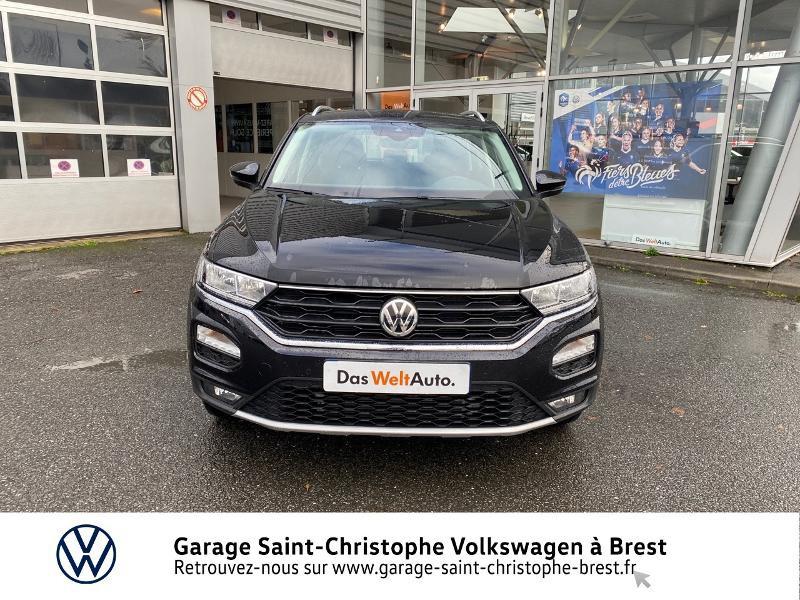 Photo 5 de l'offre de VOLKSWAGEN T-Roc 1.5 TSI EVO 150ch United DSG7 S&S à 26990€ chez Garage Saint Christophe - Volkswagen Brest
