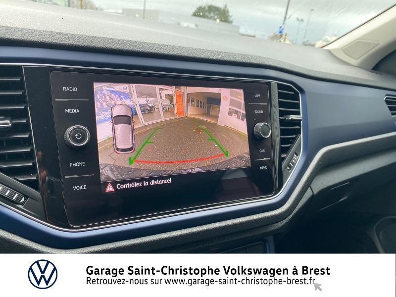 Photo 17 de l'offre de VOLKSWAGEN T-Roc 1.5 TSI EVO 150ch United DSG7 S&S à 26990€ chez Garage Saint Christophe - Volkswagen Brest
