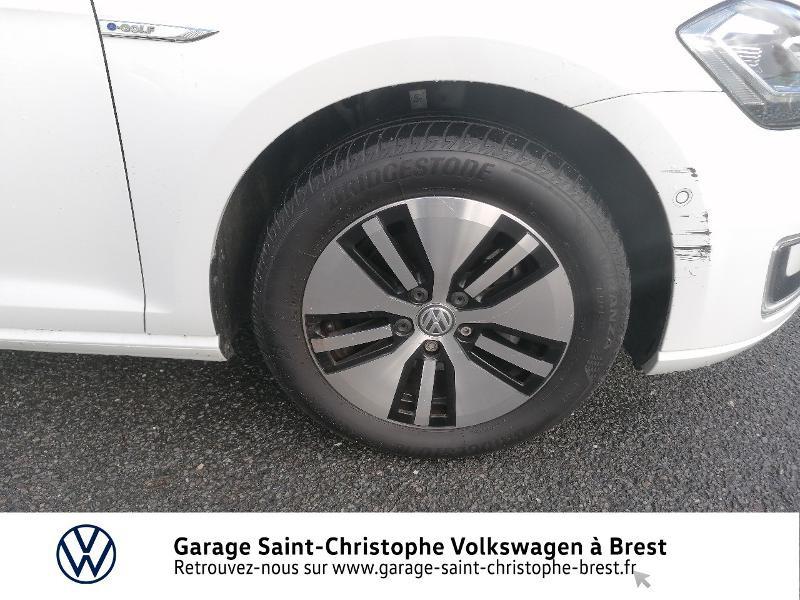 Photo 13 de l'offre de VOLKSWAGEN e-Golf 136ch 4cv à 20990€ chez Garage Saint Christophe - Volkswagen Brest