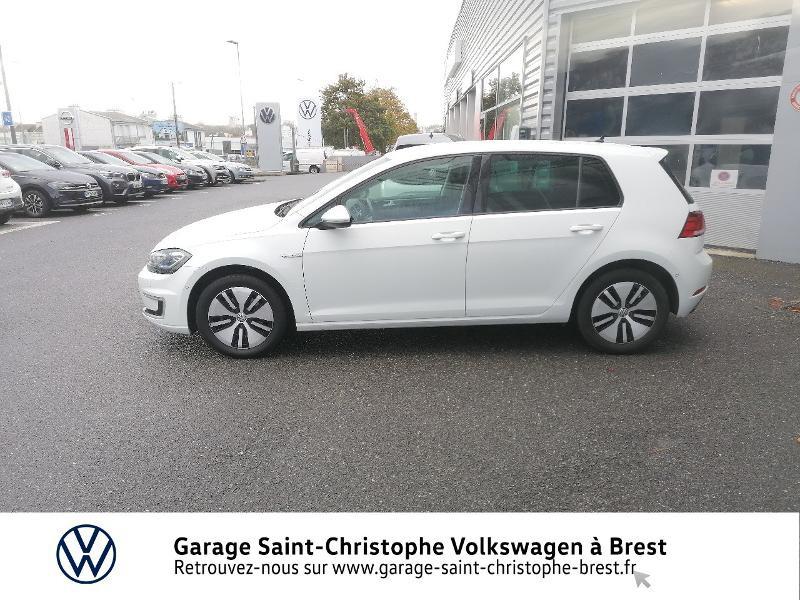 Photo 2 de l'offre de VOLKSWAGEN e-Golf 136ch 4cv à 20990€ chez Garage Saint Christophe - Volkswagen Brest