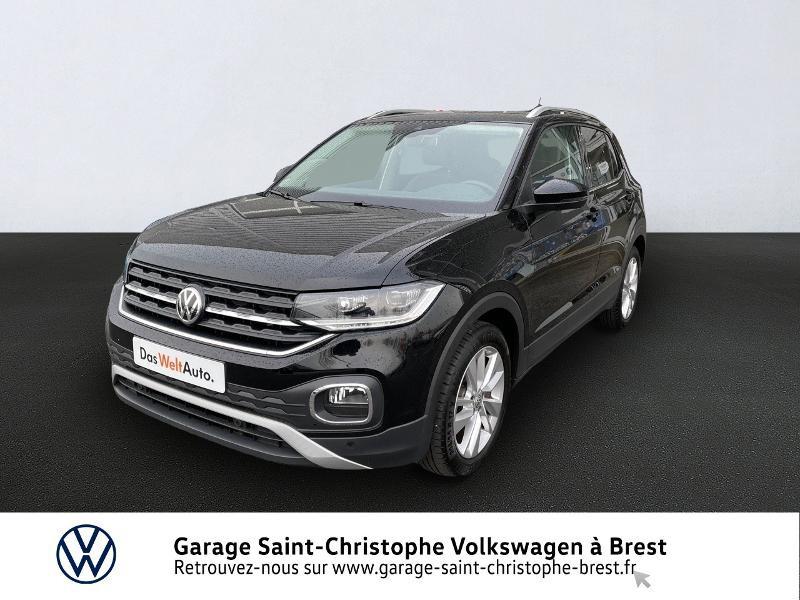 Volkswagen T-Cross 1.0 TSI 115ch Carat DSG7 Essence NOIR Occasion à vendre
