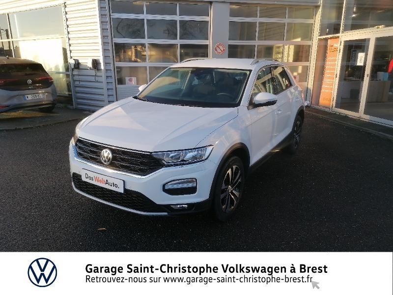 Photo 17 de l'offre de VOLKSWAGEN T-Roc 1.5 TSI EVO 150ch United DSG7 S&S à 26490€ chez Garage Saint Christophe - Volkswagen Brest
