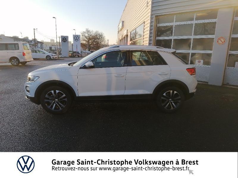 Photo 2 de l'offre de VOLKSWAGEN T-Roc 1.5 TSI EVO 150ch United DSG7 S&S à 26490€ chez Garage Saint Christophe - Volkswagen Brest