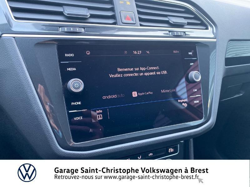 Photo 17 de l'offre de VOLKSWAGEN Tiguan 2.0 TDI 150ch Sound DSG7 à 27490€ chez Garage Saint Christophe - Volkswagen Brest