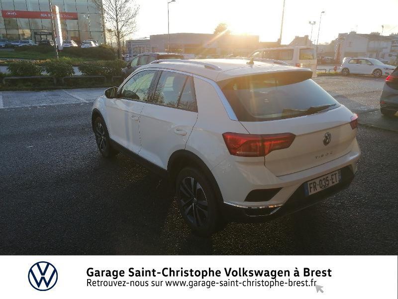 Photo 3 de l'offre de VOLKSWAGEN T-Roc 1.5 TSI EVO 150ch United DSG7 S&S à 26490€ chez Garage Saint Christophe - Volkswagen Brest