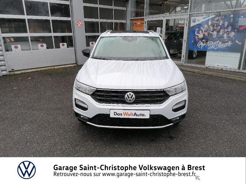 Photo 5 de l'offre de VOLKSWAGEN T-Roc 2.0 TDI 150ch IQ.Drive DSG7 Euro6d-T à 27990€ chez Garage Saint Christophe - Volkswagen Brest