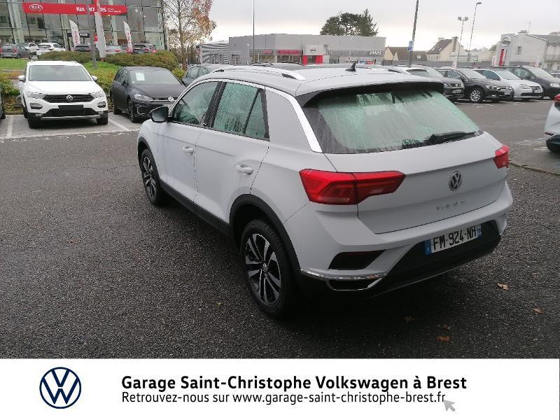 Photo 3 de l'offre de VOLKSWAGEN T-Roc 2.0 TDI 150ch IQ.Drive DSG7 Euro6d-T à 27990€ chez Garage Saint Christophe - Volkswagen Brest