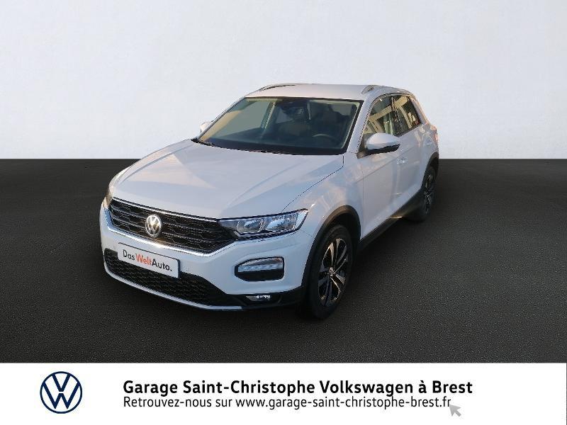 Photo 1 de l'offre de VOLKSWAGEN T-Roc 1.5 TSI EVO 150ch United DSG7 S&S à 26490€ chez Garage Saint Christophe - Volkswagen Brest