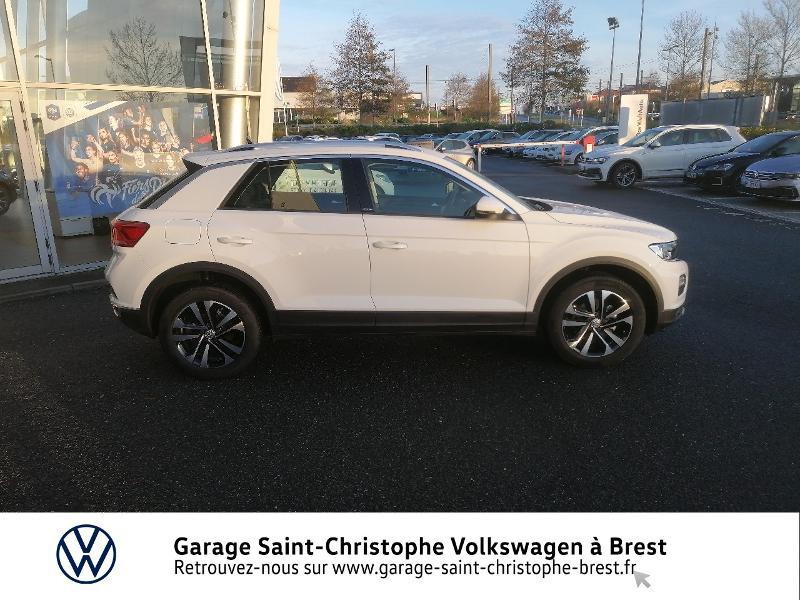 Photo 4 de l'offre de VOLKSWAGEN T-Roc 1.5 TSI EVO 150ch United DSG7 S&S à 26490€ chez Garage Saint Christophe - Volkswagen Brest