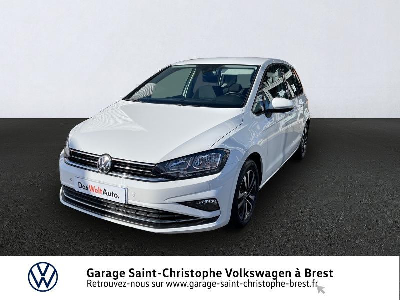 Volkswagen Golf Sportsvan 1.0 TSI 115ch BlueMotion Technology United Euro6d-T Essence BLANC PUR Occasion à vendre