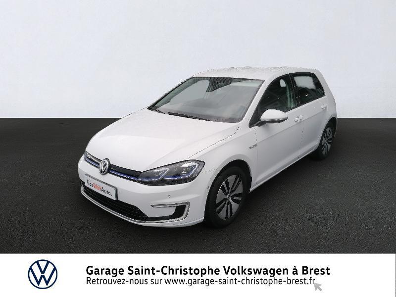 Photo 1 de l'offre de VOLKSWAGEN e-Golf 136ch 4cv à 20990€ chez Garage Saint Christophe - Volkswagen Brest