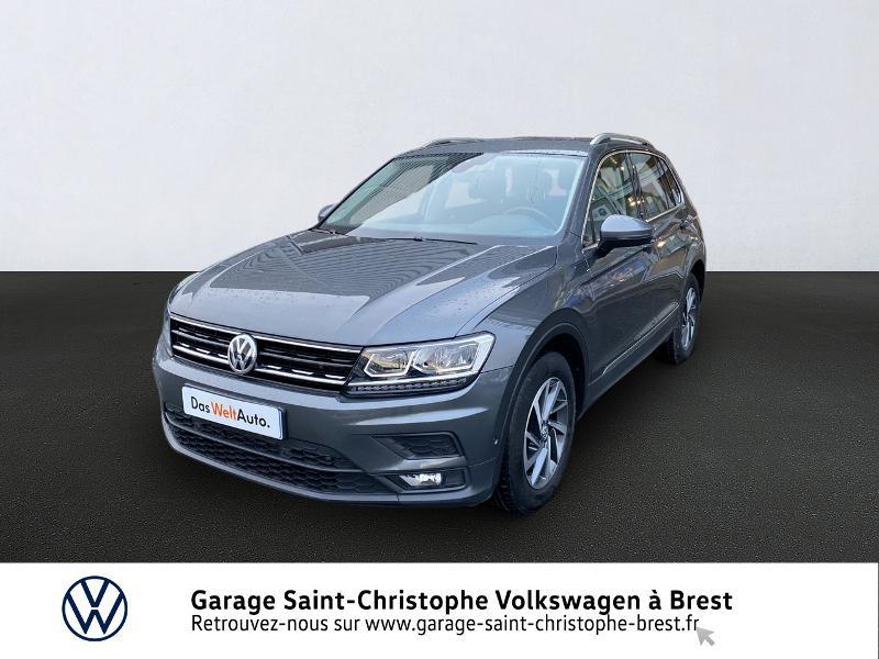Photo 1 de l'offre de VOLKSWAGEN Tiguan 2.0 TDI 150ch Sound DSG7 à 27490€ chez Garage Saint Christophe - Volkswagen Brest
