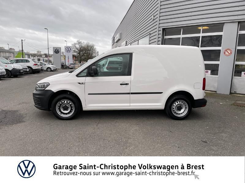 Photo 2 de l'offre de VOLKSWAGEN Caddy Van 2.0 TDI 75ch Business Line à 10970€ chez Garage Saint Christophe - Volkswagen Brest