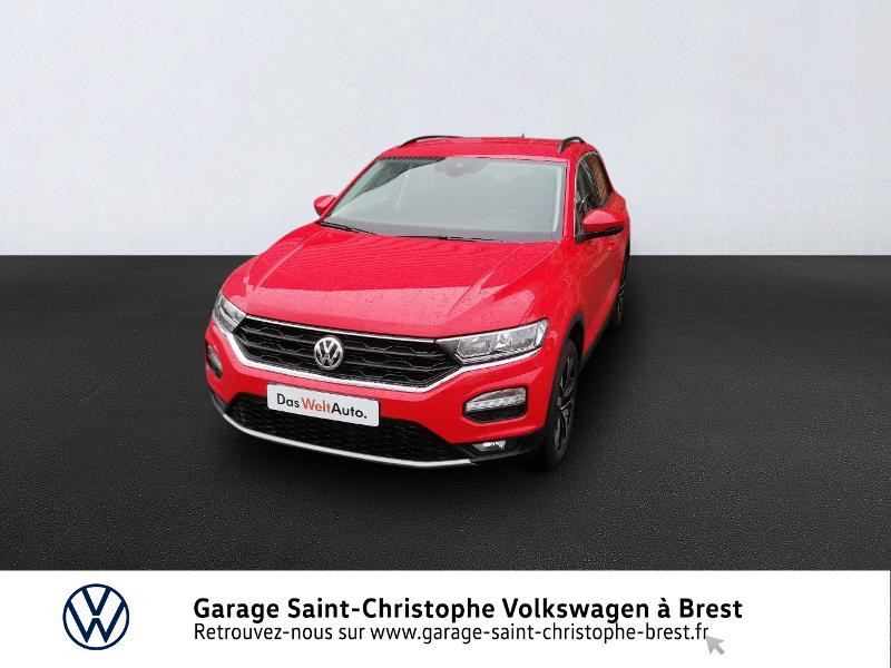 Photo 1 de l'offre de VOLKSWAGEN T-Roc 1.0 TSI 115ch United 134g à 22470€ chez Garage Saint Christophe - Volkswagen Brest