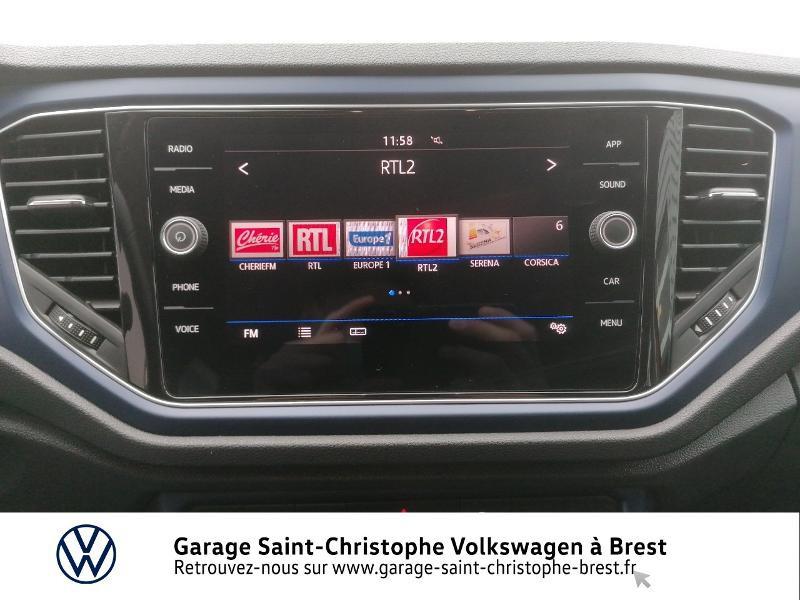 Photo 8 de l'offre de VOLKSWAGEN T-Roc 1.0 TSI 115ch United 134g à 22470€ chez Garage Saint Christophe - Volkswagen Brest