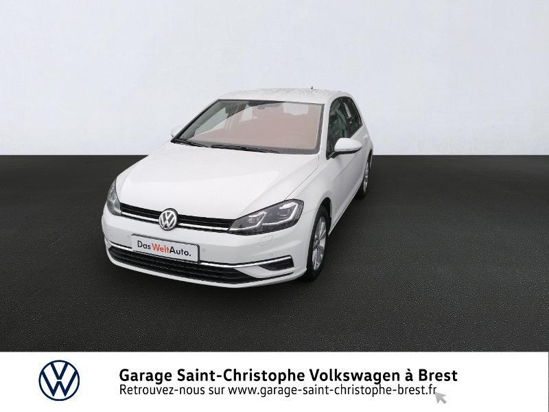 Photo 1 de l'offre de VOLKSWAGEN Golf 1.4 TSI 125ch Confortline 5p à 16470€ chez Garage Saint Christophe - Volkswagen Brest
