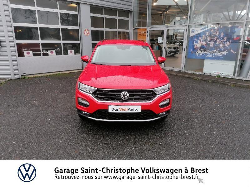 Photo 5 de l'offre de VOLKSWAGEN T-Roc 1.0 TSI 115ch United 134g à 22470€ chez Garage Saint Christophe - Volkswagen Brest
