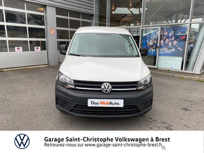 Photo 5 de l'offre de VOLKSWAGEN Caddy Van Maxi 2.0 TDI 102ch Business Line à 15990€ chez Garage Saint Christophe - Volkswagen Brest