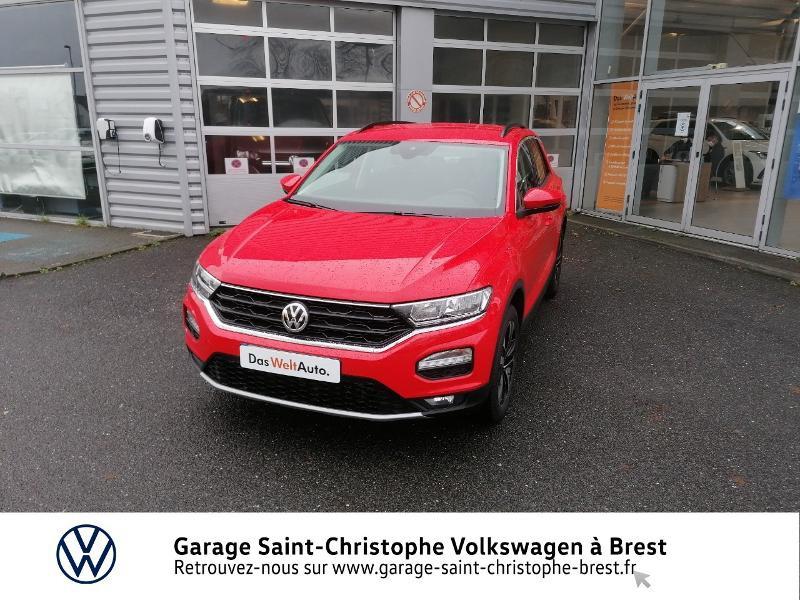 Photo 17 de l'offre de VOLKSWAGEN T-Roc 1.0 TSI 115ch United 134g à 22470€ chez Garage Saint Christophe - Volkswagen Brest