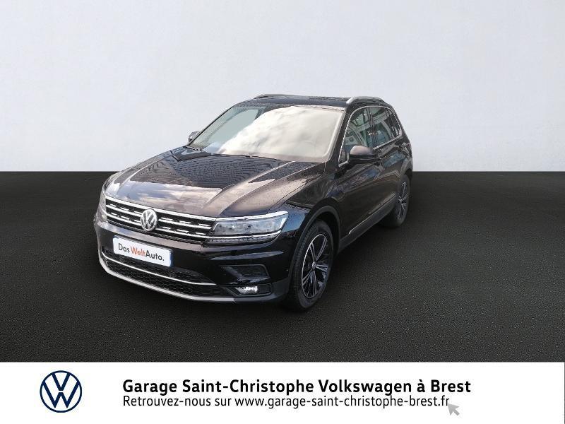 Photo 1 de l'offre de VOLKSWAGEN Tiguan 2.0 TDI 150ch Carat DSG7 Euro6d-T à 33470€ chez Garage Saint Christophe - Volkswagen Brest
