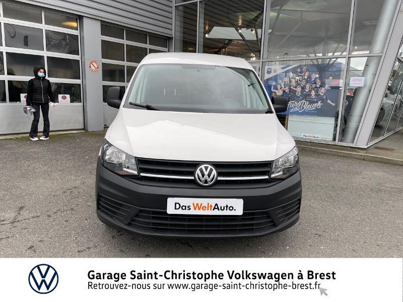 Photo 5 de l'offre de VOLKSWAGEN Caddy Van 2.0 TDI 75ch Business Line à 10970€ chez Garage Saint Christophe - Volkswagen Brest