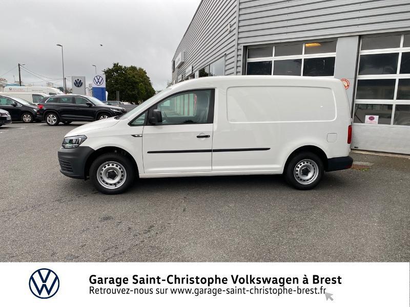 Photo 2 de l'offre de VOLKSWAGEN Caddy Van Maxi 2.0 TDI 102ch Business Line à 15990€ chez Garage Saint Christophe - Volkswagen Brest