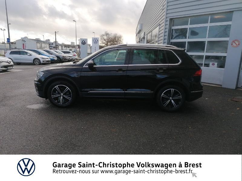 Photo 2 de l'offre de VOLKSWAGEN Tiguan 2.0 TDI 150ch Carat DSG7 Euro6d-T à 33470€ chez Garage Saint Christophe - Volkswagen Brest