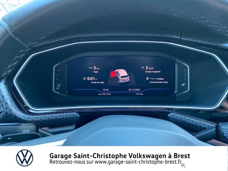 Photo 9 de l'offre de VOLKSWAGEN T-Cross 1.0 TSI 115ch Carat DSG7 à 24470€ chez Garage Saint Christophe - Volkswagen Brest