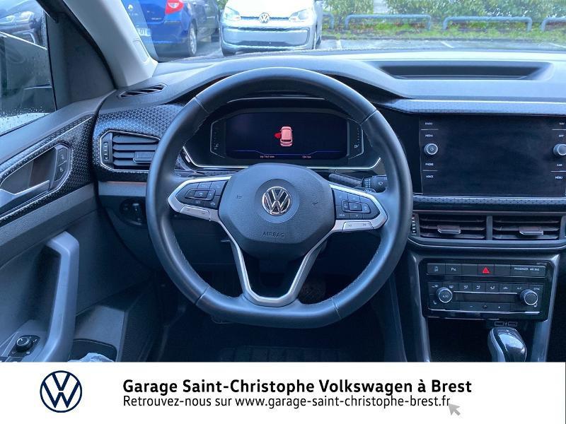 Photo 7 de l'offre de VOLKSWAGEN T-Cross 1.0 TSI 115ch Carat DSG7 à 24470€ chez Garage Saint Christophe - Volkswagen Brest
