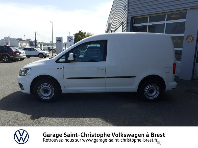 Photo 2 de l'offre de VOLKSWAGEN Caddy Van 2.0 TDI 102ch Business Line Plus à 14830€ chez Garage Saint Christophe - Volkswagen Brest