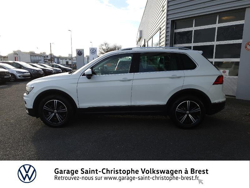 Photo 2 de l'offre de VOLKSWAGEN Tiguan 2.0 TDI 150ch Carat DSG7 Euro6d-T à 32970€ chez Garage Saint Christophe - Volkswagen Brest