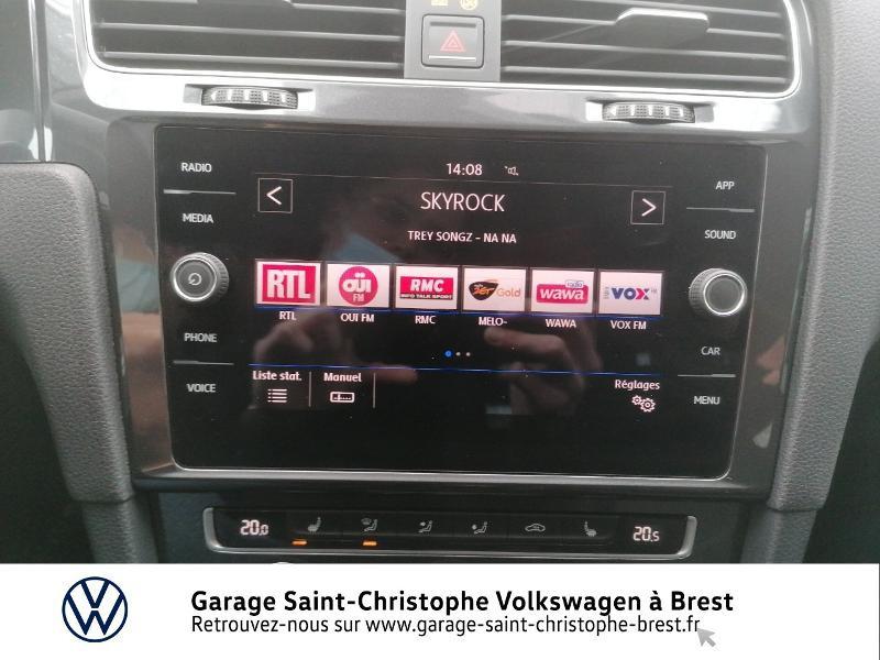 Photo 8 de l'offre de VOLKSWAGEN Golf 1.4 TSI 125ch Confortline 5p à 16470€ chez Garage Saint Christophe - Volkswagen Brest