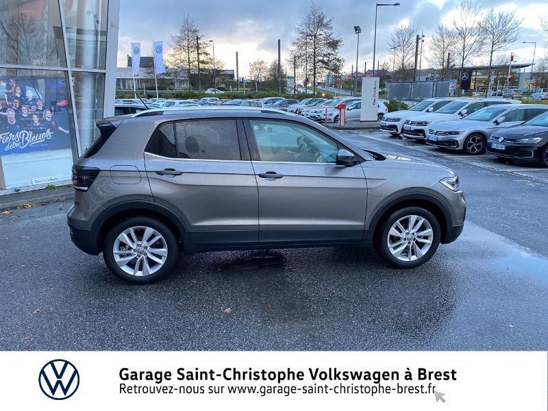 Photo 4 de l'offre de VOLKSWAGEN T-Cross 1.0 TSI 115ch Carat DSG7 à 24470€ chez Garage Saint Christophe - Volkswagen Brest
