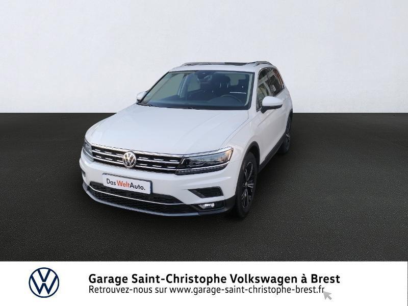 Photo 1 de l'offre de VOLKSWAGEN Tiguan 1.5 TSI EVO 150ch Carat DSG7 Euro6dT à 32970€ chez Garage Saint Christophe - Volkswagen Brest