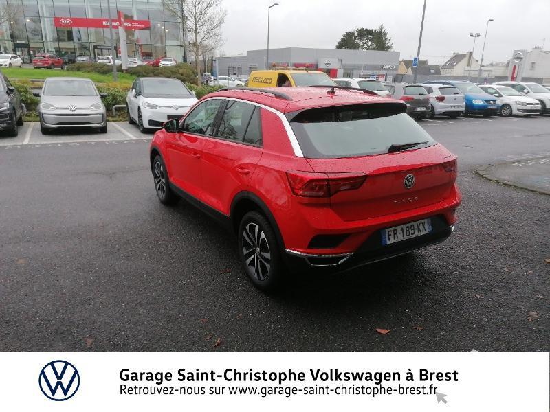 Photo 3 de l'offre de VOLKSWAGEN T-Roc 1.0 TSI 115ch United 134g à 22470€ chez Garage Saint Christophe - Volkswagen Brest