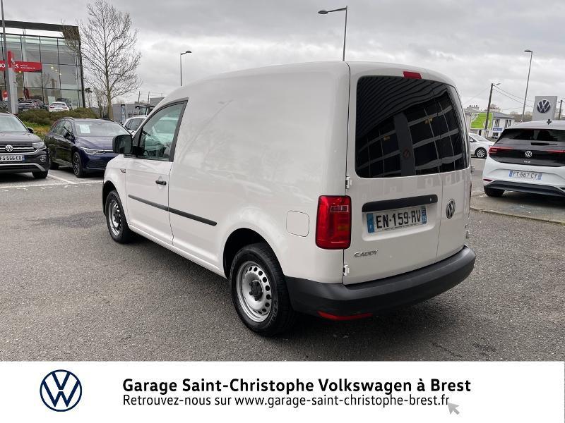 Photo 3 de l'offre de VOLKSWAGEN Caddy Van 2.0 TDI 75ch Business Line à 10970€ chez Garage Saint Christophe - Volkswagen Brest