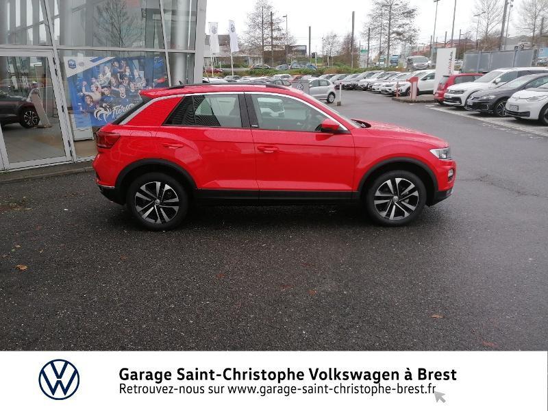 Photo 4 de l'offre de VOLKSWAGEN T-Roc 1.0 TSI 115ch United 134g à 22470€ chez Garage Saint Christophe - Volkswagen Brest