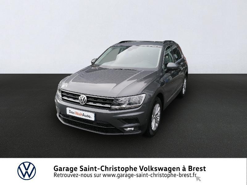 Photo 1 de l'offre de VOLKSWAGEN Tiguan 2.0 TDI 150ch Confortline Business Euro6d-T à 27470€ chez Garage Saint Christophe - Volkswagen Brest