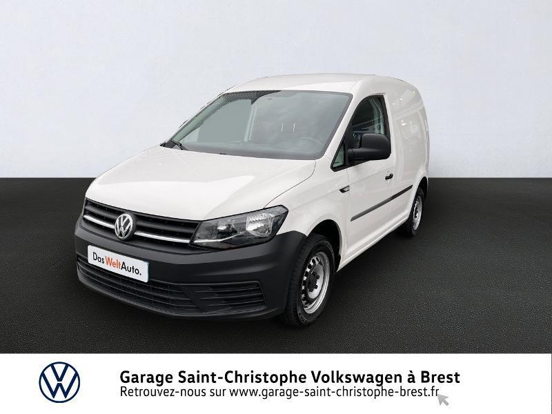 Photo 1 de l'offre de VOLKSWAGEN Caddy Van 2.0 TDI 75ch Business Line à 10970€ chez Garage Saint Christophe - Volkswagen Brest