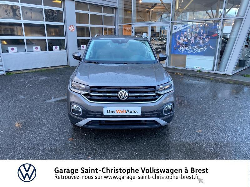 Photo 5 de l'offre de VOLKSWAGEN T-Cross 1.0 TSI 115ch Carat DSG7 à 24470€ chez Garage Saint Christophe - Volkswagen Brest